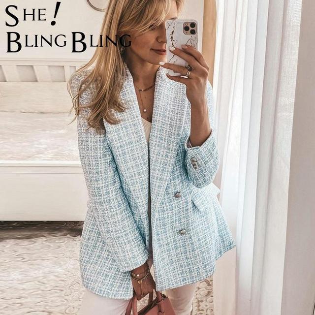 Шикарный офисный женский пиджак 3
