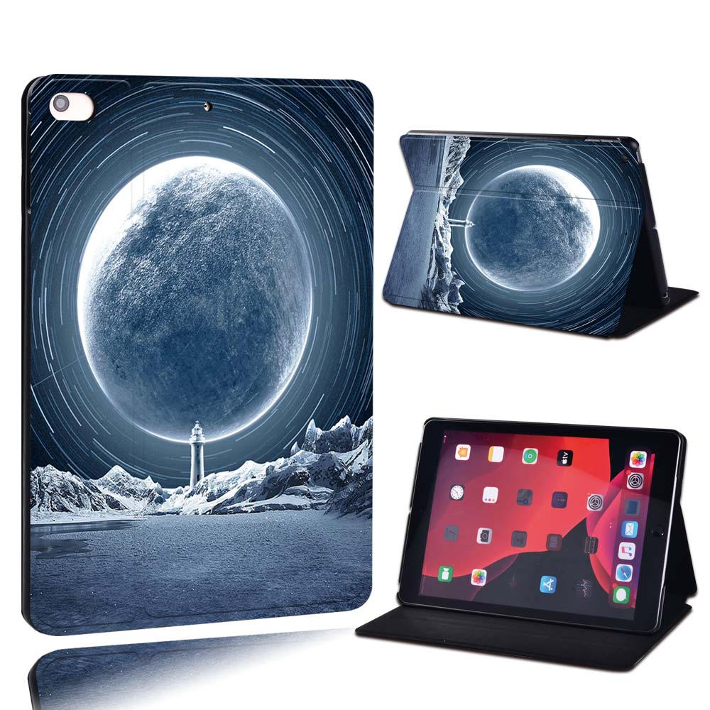 23.cold moon fantasy Gold For Apple iPad 8 10 2 2020 8th 8 Generation A2428 A2429 PU Leather Tablet Stand