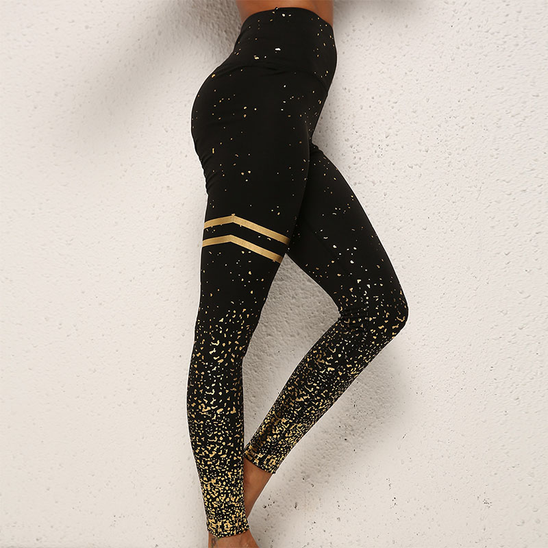 SVOKOR Leggings Women Fitness Push Up Leggings Workout High Waist Sports Pants Bronzing Fashion Female Jeggings