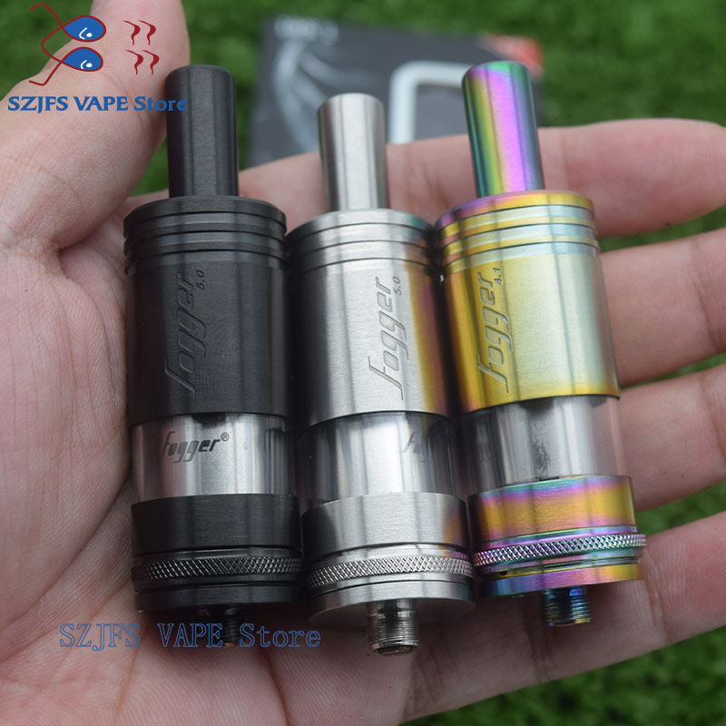 E Cigarette Rta Airflow Control Rebuildable Big Vapor Tank 304 Stainless Steel 22mm Vs Kayfun Mini V3 V5 V4 V6 RDTA 5S Menelaus