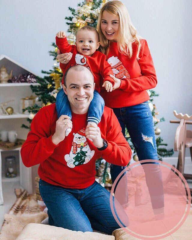 만화 크리스마스 가족 일치하는 여자 남자 아이 스웨터 스웨터 가족 귀여운 곰 크리스마스 티셔츠 따뜻한 tracksuit 의류
