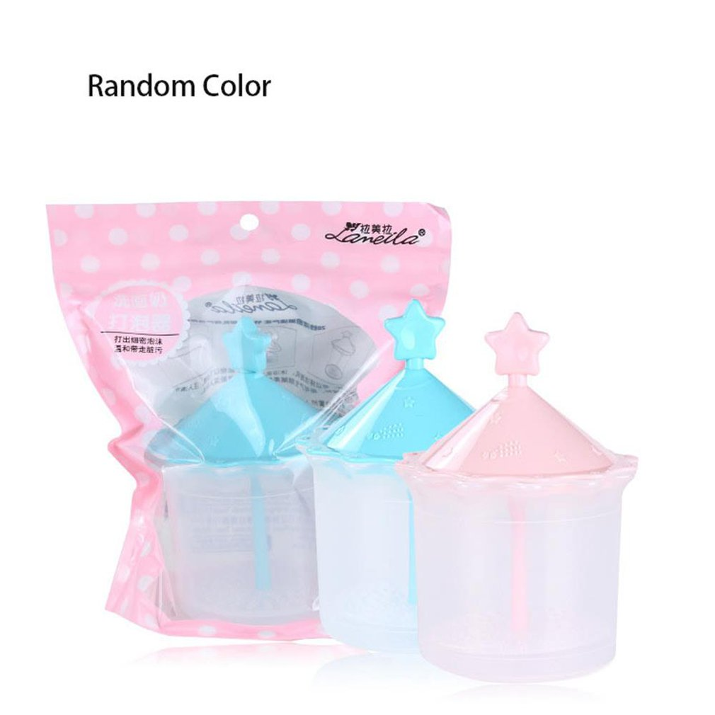 Creative Shower Gel Cleanser Bubbler C0351 Soft Sponge Durable Girls Cosmetic Tools Practical