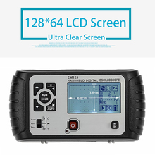 2 in 1 Multimeter Oscilloscope 25MHz Multifunct Handheld Scopemeter Voltmeter Ohmmeter Capacitance Screen Digital Oscilloscope micsig scopemeter oscilloscope automotive 200mhz digital tablet oscilloscope touchscreen oscilloscope portable 2 channels to202a