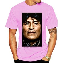 T-Shirt Evo Morales colombia perù R evo l