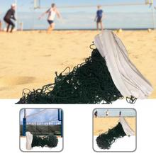 Wear-resistant Black Wear-resistant Sturdy Sports Volleyball Net for Match