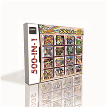 500 in 1 Hot Game Card For DS 2DS 3DS Game Console with Turtles Arcade Attack Naruto Path of the Ninja 2 Dragon Ball Z