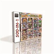 500 w 1 gorąca gra karciana dla DS 2DS 3DS konsola do gier Z żółwi zręcznościowa atak Naruto ścieżka Ninja 2 Dragon Ball Z