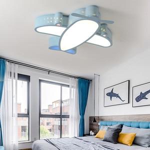 Image 5 - Modern Simple Novelty Cartoon Cute Animal LED Kid Airplane Ceiling Light Lamp Nursery Kids Baby Child Room Bedroom Home Lighting