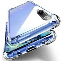 Funda de teléfono sencilla a prueba de golpes para Huawei Nova, protector transparente de TPU con cuatro esquinas, resistente, Airbag, para Huawei Nova 6 SE 7I 5 5I 5Z 5T Pro