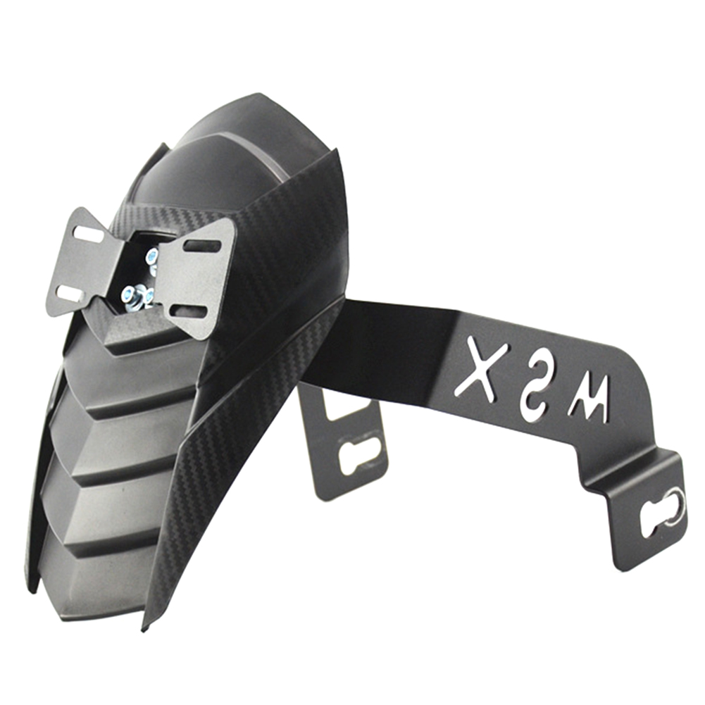 Protective Splash Guard Accessory Motorcycle Fender Wearproof Modify Parts Rear Mudguard Styling High Strength For Msx125/SF