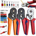 Yalku 0.25-10mm2 Crimper Pliers Set Self-adjusting Crimping Tool With 1200 Wire Pipe End Dlamp Press Pliers Hand Tools