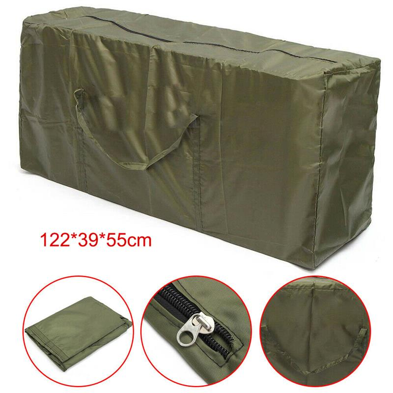 Large Outdoor Waterproof Garden Furniture Cushion Storage Bag Cover Case Pouch