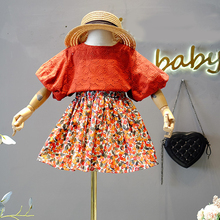 Children Skirt Clothing-Sets Suit Short Toddler Girls' Baby Kids Princess Summer Hollow