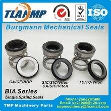 BIA 35 BIA/35 Burgmann mekanik contaları kauçuk altında su pompası contası (malzeme: CA CE NBR, CA SIC VIT, SIC SIC VIT, TC TC VIT)