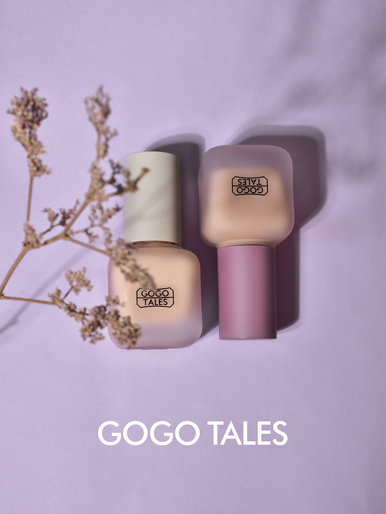 Gogo tales liquid foundation for face makeup free air ultra thin oil control long lasting waterproof base concealer BN233 image
