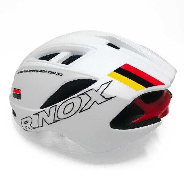 Aero capacete triathlon capacete da bicicleta tt estrada capacete para homens mulheres corrida ciclismo capacete mtb casco equipamentos 4