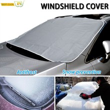 96*163cm Magnetic Windshield Cover Summer Sun Anti-UV Shade Protector Frost Anti-Dust Dust-Proof Car Cover Auto Car Accessories(China)