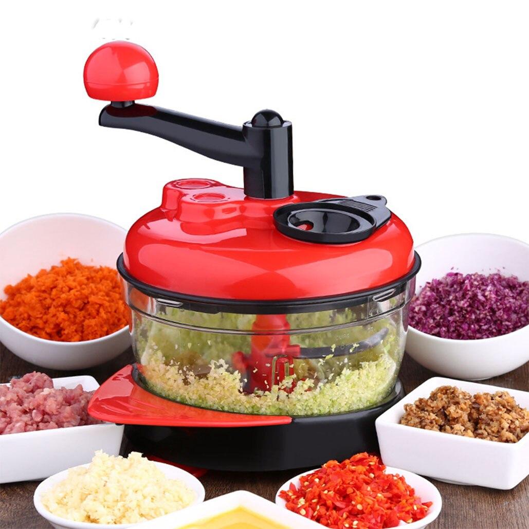 2L haute capacité multi-fonction cuisine manuel robot culinaire hachoir à viande hachoir à légumes déchiqueteuse Cutter oeuf mélangeur