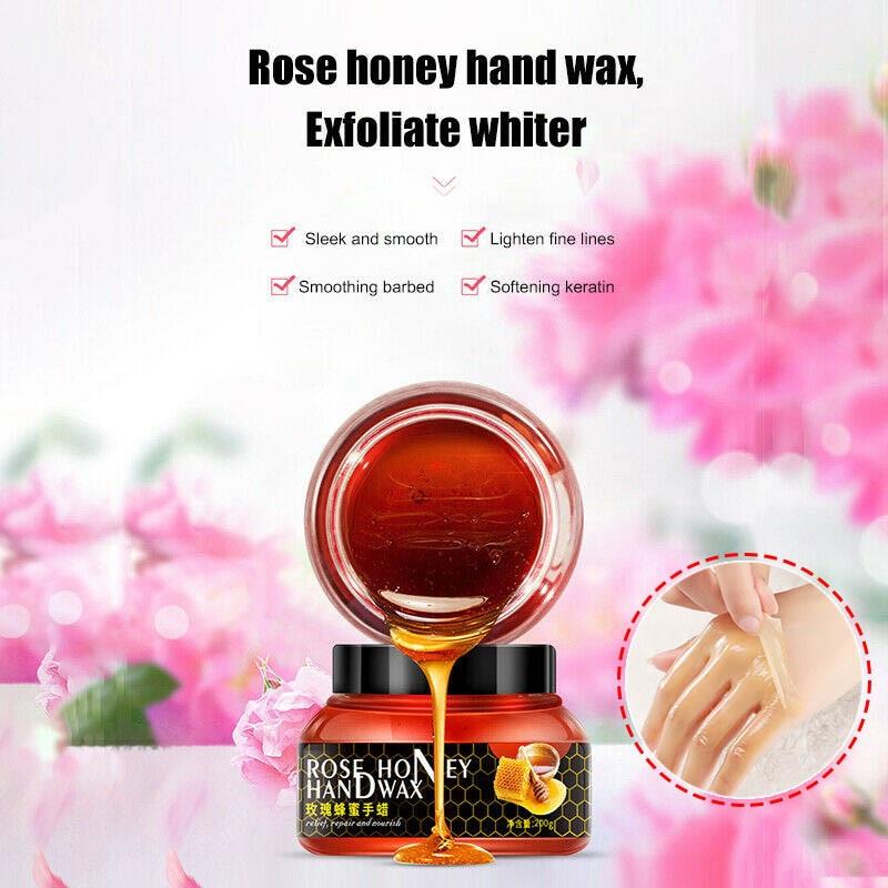 Rose Essence Honey Moisturizing Hand Wax Tender Skin Tear Type Mask Moisturizing Hand Product Drop Shipping
