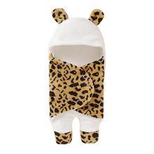 Baby Sleeping Bags Envelopes Super Soft Newborn Bebes Fleece Sleepsack Footmuff For Stroller Spring Autumn Infantil Swaddle Wrap