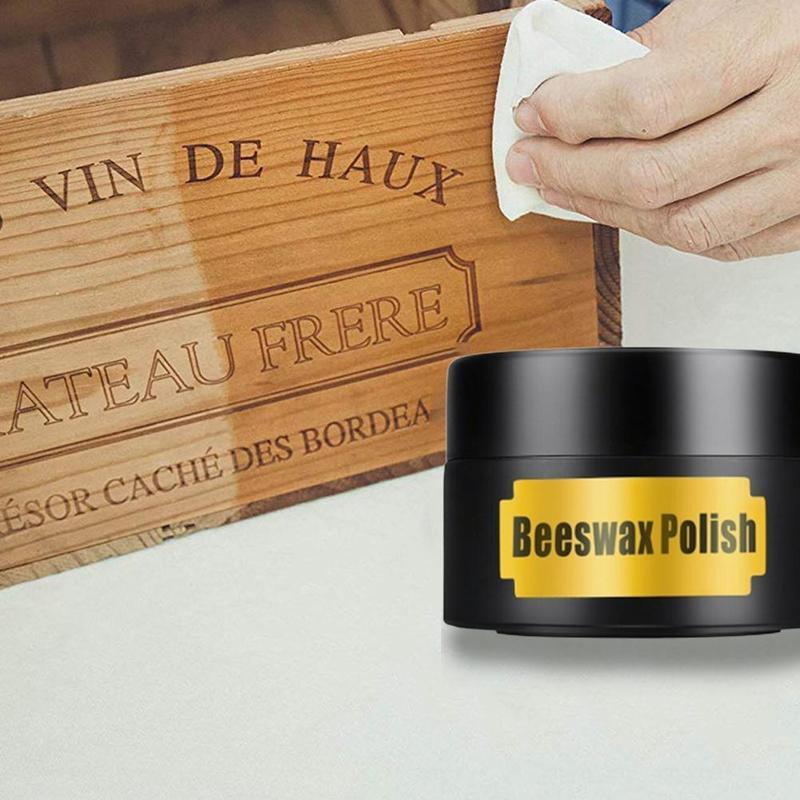 Pure Beeswax Honey Wax Wood Furniture Floor Maintenance Wood Polishing Tool Working Waxing Wax Beewax Wood Care Wax