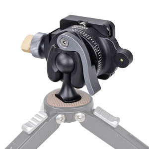 Image 4 - XILETU XBC 20 Tripod başkanı BallHead SLR kamera Monopod çift panoramik Gimbal