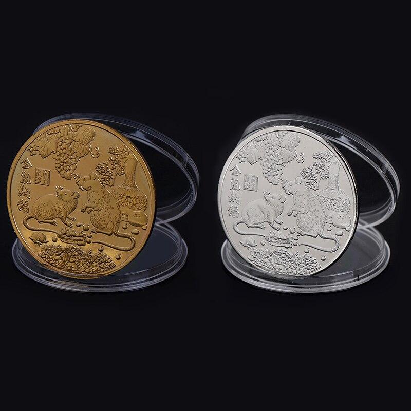 1PC Zodiac Libra Commemorative Coin Collection Coin Gifts