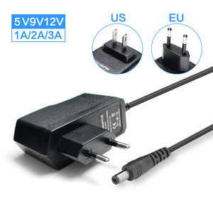 AC/DC 5V 9V 12V Adapter 1A 2A 3A 220V TO 5 9 12 V Volt Universal Power Adapter 12V 9V 5V Charger Supply Switching EU US Plug