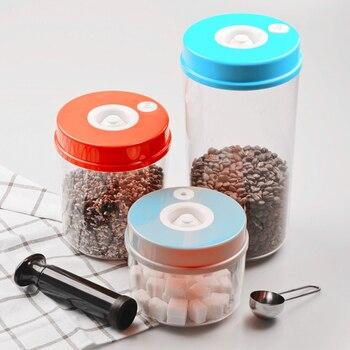 Vacuüm Voedsel Container Voor Vacuumsealer Keuken Potten Vacuüm Bus Met Pomp Lunchbox