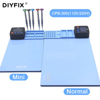 DIYFIX 110V 220V Mini CPB LCD Screen Heating Separator Disassembly Tool heating plate heating pad For iPhone iPad Tablet Tool