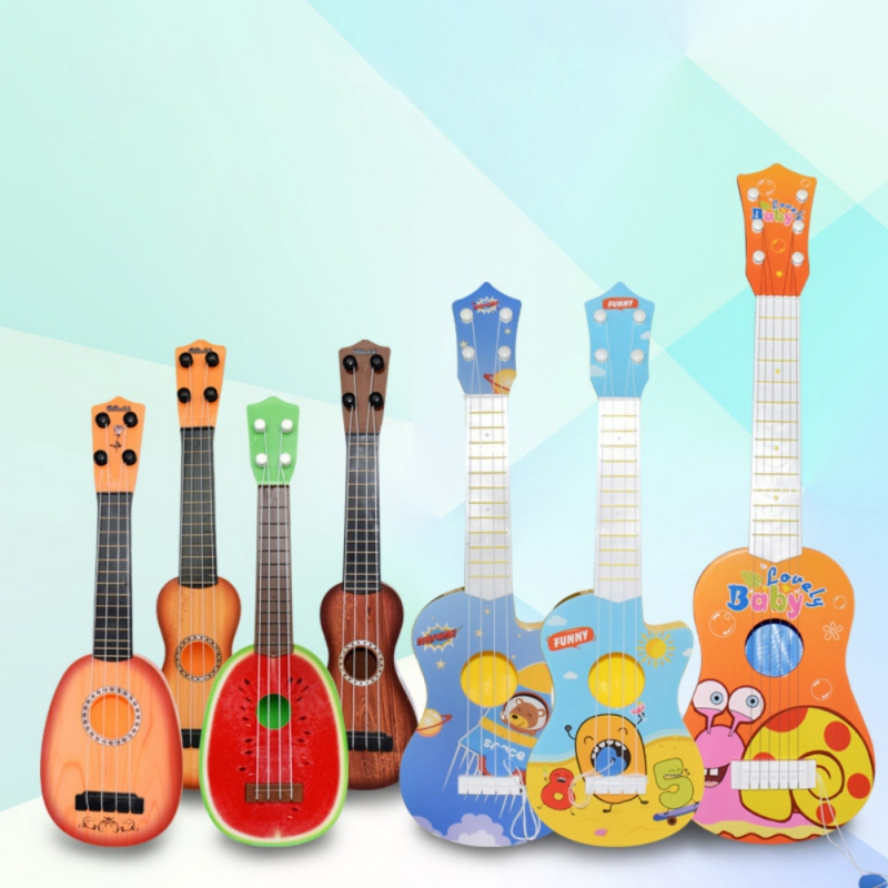 Cute Animal Musical Guitar ukulele Instrument Children Kid Educational Play Toy