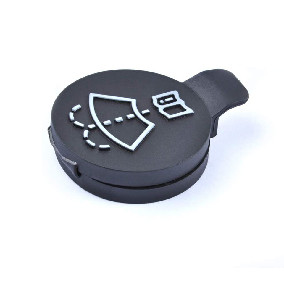 12788573 Windshield Wiper Washer Fluid Reservoir Tank Bottle Cap for Buick Cadillac Chevrolet GMC Saab OE: 12767700 13227300 30566588
