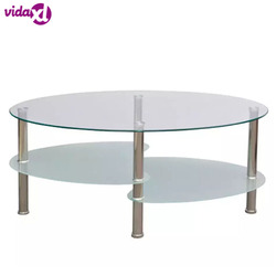 VidaXL Coffee Table With Exclusive 3-Layer Design Furniture Fashion Coffee Table For Living Room tavolino salotto
