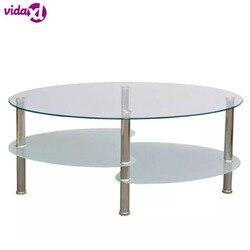 VidaXL Kaffee Tisch Mit Exklusive 3-Schicht Design Möbel Mode Kaffee Tisch Für Wohnzimmer tavolino salotto