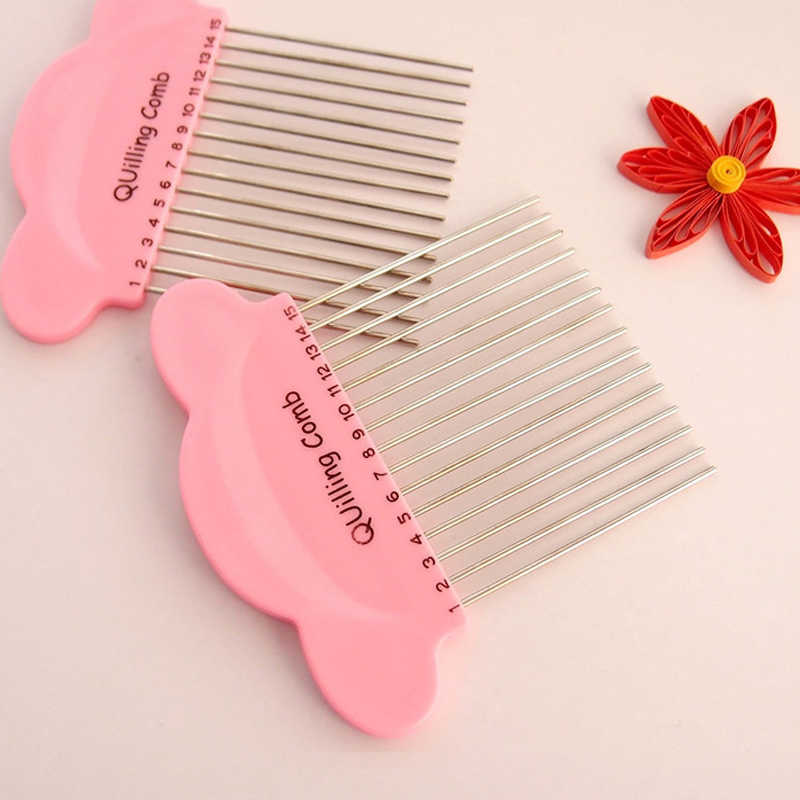 Paper Quilling Comb Tool Paper Craft Tool Plastic Creat Loops Accessory Supply handmade creative craft DIY