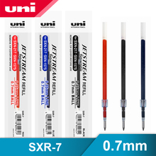 12 Pcs/Lot Mitsubishi Uni SXR 7 Jetstream Series Smooth Ballpoint Pen Refill 0.7mm For SXN 1000/SXN 157S/SXN 189DS Gel Pens