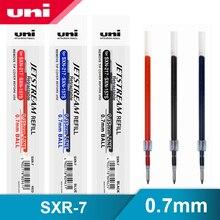 12 sztuk/partia Mitsubishi Uni SXR 7 Jetstream serii gładki długopis napełniania 0.7mm dla SXN 1000/SXN 157S/SXN 189DS długopisy żelowe