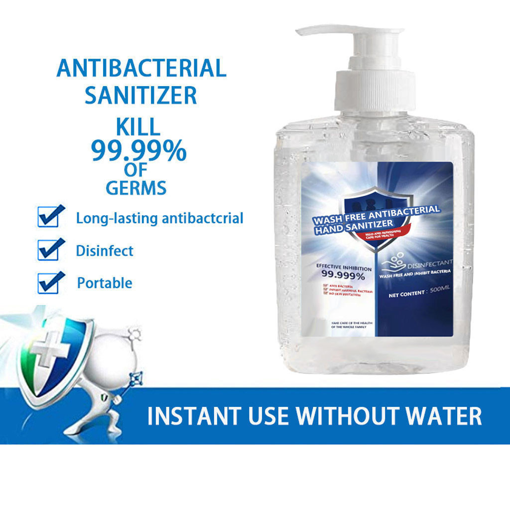300ML Disposable Hand Sanitizer Long-Lasting Speed Dry Hand Lotion Disposable Base For Disinfect Bacterial