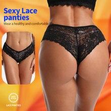 Sexy Underwear Lingerie Tanga G-String Cotton Thong Female Women Interior 3PCS Femenina