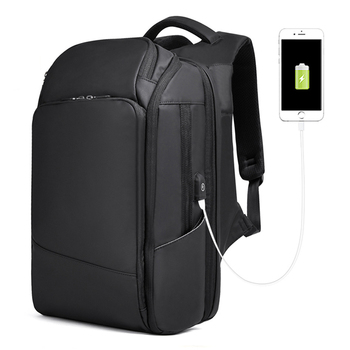 New USB Charging Men Backpack Large Capacity Business 17 Inch Laptop Waterproof Backpack Casual Travel Student Bag for Teens