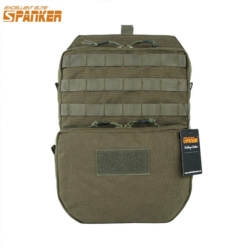EXCELLENT ELITE SPANKER Tactical Hydration Bag Hunting Combat Vest Hydration Bags Camping Hiking Water Pouch