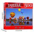 Puzzle 500 Stück Landschaft Muster Bilder Puzzles Erwachsene Kinder Jigsaw GXMB
