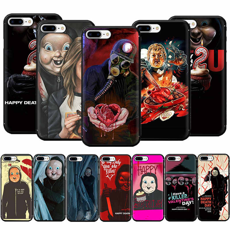 happy death day 2u poster Soft TPU Phone Case for iPhone 11 Pro 5 5s 6 6s 7 8 Plus X XR XS MAX