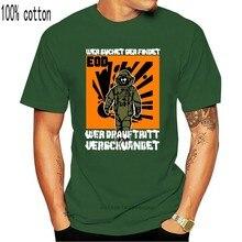 2020 männer Kühlen T-shirt EOD Wer suchet der findet, wer drauf tritt verschwindet Minen - T-Shirts #15510 Sommer T Shirts