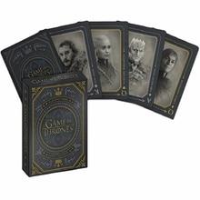 Game Of Thrones Poker Props Jon Snow Stark Daenerys Targaryen Dany Dragon Mother Cosplay Board Playing Cards