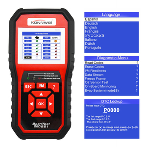 Image 5 - OBD2 Auto Diagnostic Scanner Tool Car Engine Code Reader Scan Diagnosis Acessories for BMW Volvo Peugeot Mercedes Benz Toyota VW