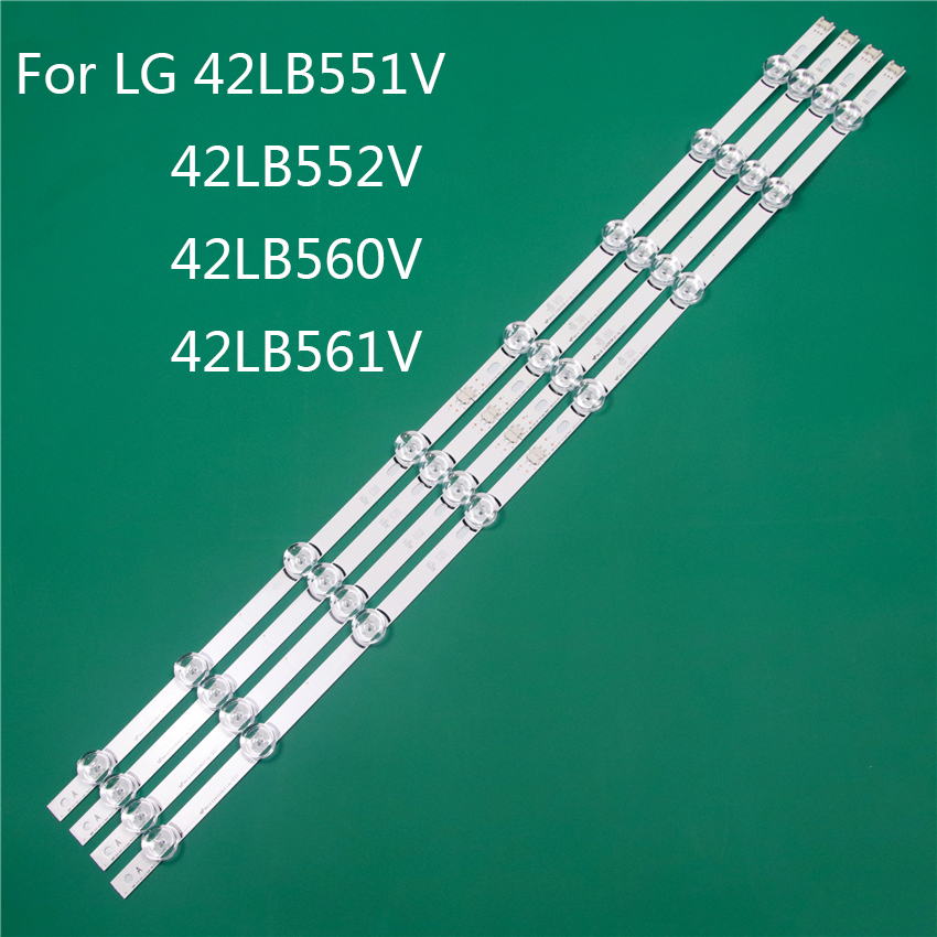 LED TV Illumination Part Replacement For LG 42LB551V 42LB552V 42LB560V 42LB561V LED Bar Backlight Strip Line Ruler DRT3.0 42 A B