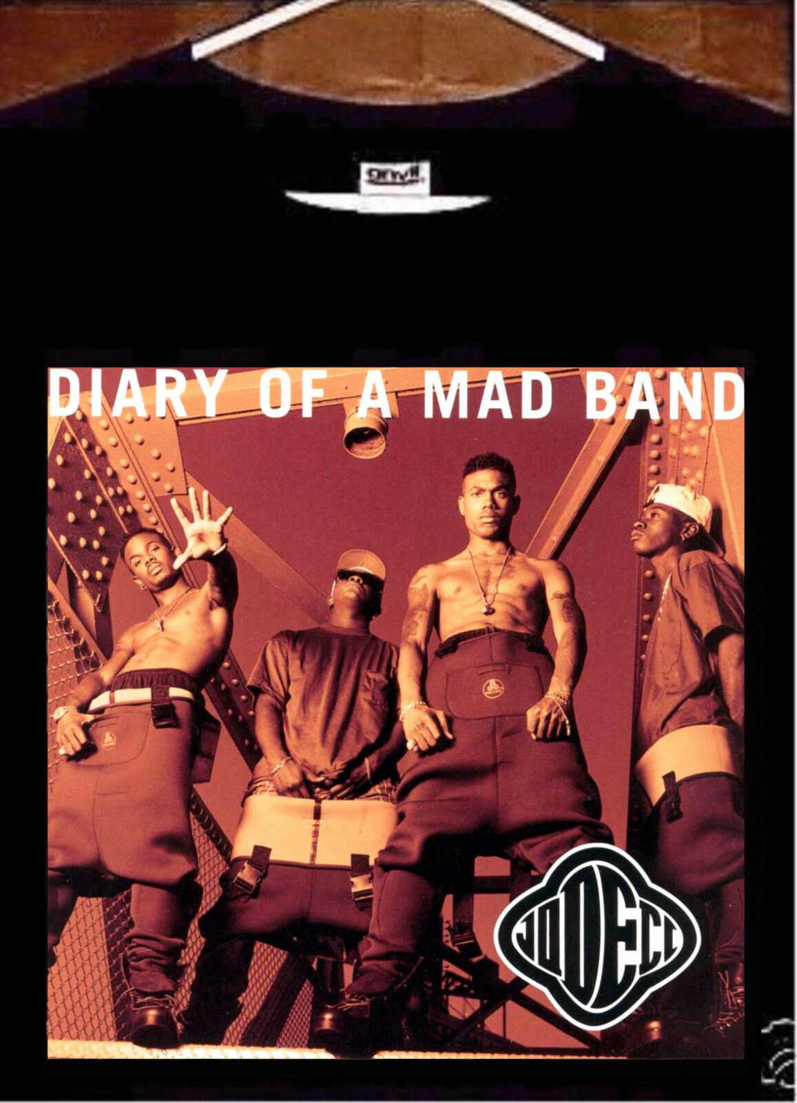 Jodeci T Shirt Jodeci Diary Of A Mad Band Tee Shirt