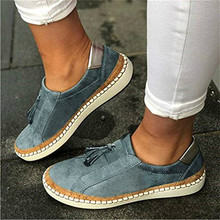 women flats shoes casual shoe woman round toe slip on PU leather loafers tassels wxx099 2017 woman black gray genuine leather flats shoes casual retro round toe handmade slip on solid round toe chinese embroidered
