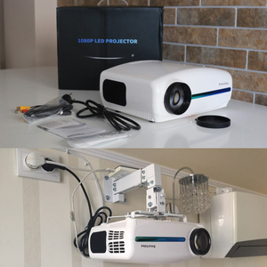 Image 2 - Smartldea 1080P 4K Full HD Projector,Android 9.0 Optional,1920x1080P Resolution 6500lumen,LED Proyector Home Theater,3D Beamer
